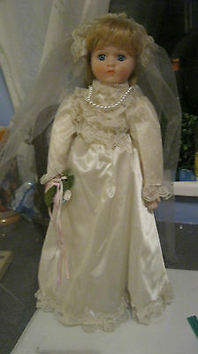 The Bride Porcelain Doll The Heritage Collection