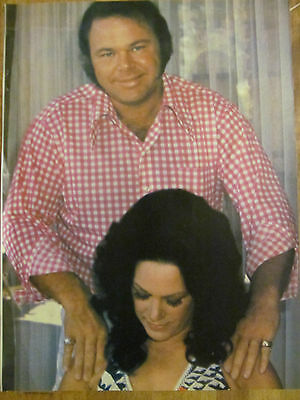 Roy Clark, Full Page Vintage Pinup