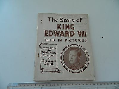 The Story of King Edward VIII Told in Pictures by Sankey Hudson & Co. 1937
