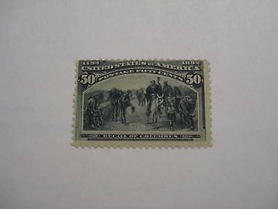United States Scott 240 50c Recall of Columbus