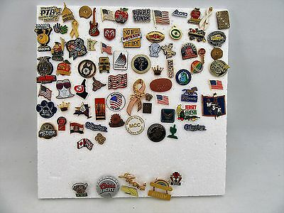 Lot of 70+ Assorted Pins-Pin Back Brooches Costume Jewelry Vintage to Modern