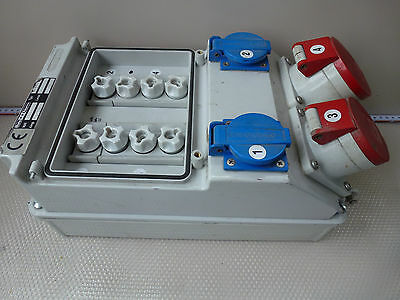 Bals Electro technology Type 5433 Wall distributor Plastic 230/400V 16/32Amp