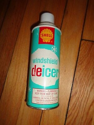 Vintage Can Shell Windshield Deicer