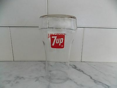 Vintage 7 Up The Uncola Drinking Glass Advertising