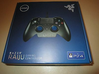 Razer Raiju Gaming Controller for the PS4 **NEW & SEALED**