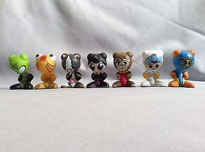 Lot of 7 MIXED  Funkeys Funkies electronic game toy figures collection