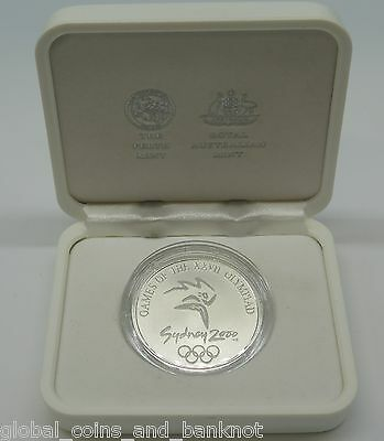 Australia 2000 Sydney Olympic games - Subscribers Medallion, Silver Coin Series