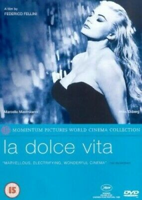 La Dolce Vita [DVD] [1960] [2001] - DVD  UMVG The Cheap Fast Free Post