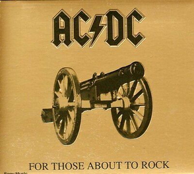 AC/DC - For Those About To Rock [We Salute You] - AC/DC CD L9VG The Cheap Fast