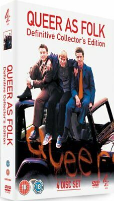 Queer As Folk - Definitive Collector's Edition [DVD] [1999] - DVD  44VG The