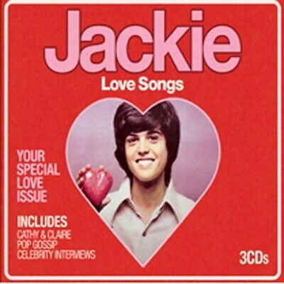 Various Artists - Jackie - Love Songs - Various Artists CD S6VG The Cheap Fast