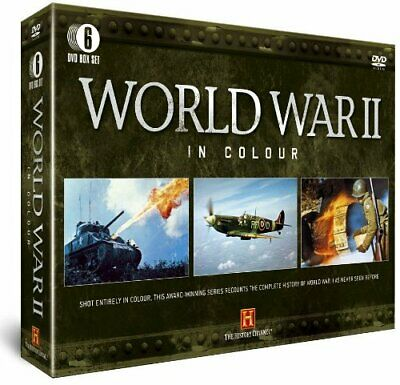 World War 2 in Colour (6-Disc Box Set) [DVD] - DVD  QWVG The Cheap Fast Free