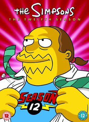 The Simpsons - Season 12 - Complete [DVD] - DVD  KUVG The Cheap Fast Free Post