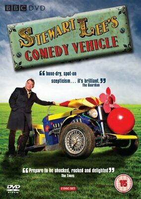 Stewart Lee's Comedy Vehicle - Series 1 [DVD] - DVD  QKVG The Cheap Fast Free