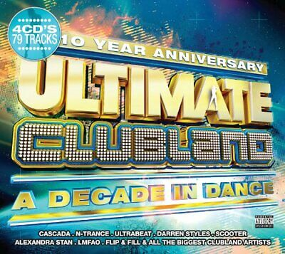 Various Artists - Ultimate Clubland - Various Artists CD VMVG The Cheap Fast The