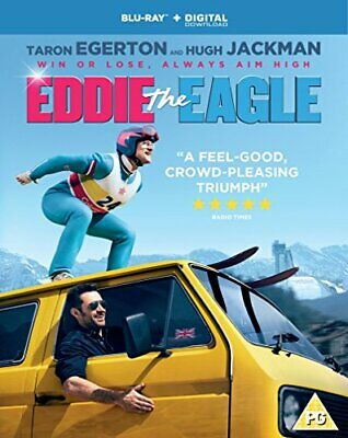 Eddie The Eagle [Blu-ray] [2016] - DVD  YGVG The Cheap Fast Free Post