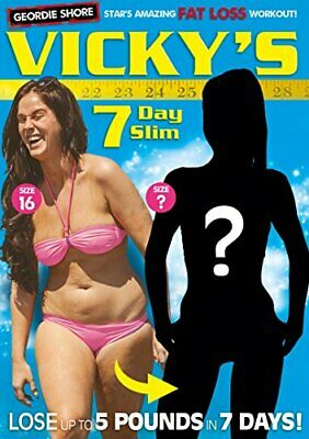 Vicky Pattison's 7 Day Slim [DVD] - DVD  K2VG The Cheap Fast Free Post
