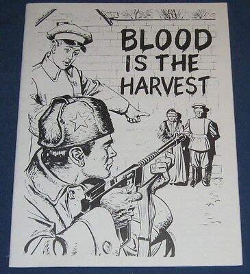 Blood Is The Harvest Reprint Esoteric Press 1979
