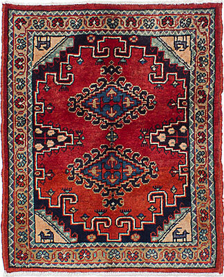 """Hand-knotted Persian Carpet 2'6"""" x 3'0"""" Wiss Wool Rug...DISCOUNTED!"""