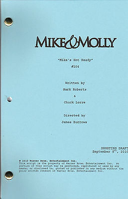 """MIKE & MOLLY show script """"Mike's Not Ready"""""""