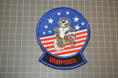 """USN Air Test and Evaluation Squadron VX-9 """"Vampires"""" Patch (B17-B)"""