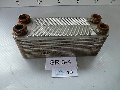 Swep E6t No. 18067 Plate Heat Exchangers Stainless Steel L/B/H mm Approx.
