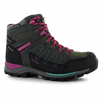 Karrimor Kids Hot Rock Boys Walking Shoes Hiking Trekking Breathable Lace Up
