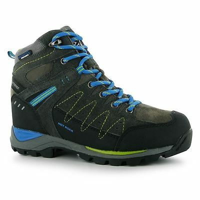Karrimor Kids Hot Rock Mid Walking Boots Boys Trekking Hiking Lace Up