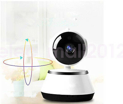 WIFI Wireless Network CCTV IP Camera Pan Tilt 720P Security Night Vision Webcam