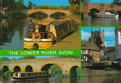 THE LOWER RIVER AVON - Multiple Images Type (F683)