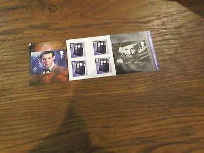 A Dr Who 50Th Anniversary Royal Mail First Class Stamp Book Of Mint Stamps
