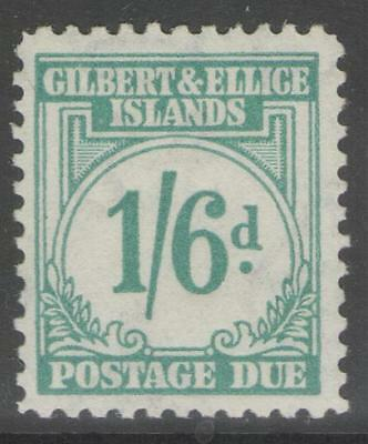 Gilbert & Ellice Is. Sgd8 1940 1/6 Turquoise-Green Mtd Mint