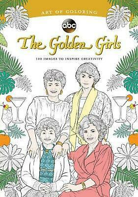 Art of Coloring: Golden Girls by Disney Paperback Book