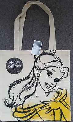 Limited Edition, Canvas, Belle, Beauty & The Beast, Tote Bag, Disney, New/tagged