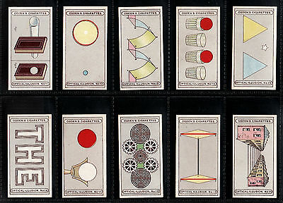 "Ogden 1923 Intriguing (Seeing Is Believing) Full 25 Card Set "" Optical Illusions"