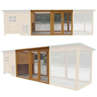 Chicken Coop Extension Run Runs For Coup Coops Pen Outdoor Hen Poultry Ark Home