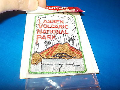 Lassen Volcanic National Park California Vintage Patch Still Factory Sealed