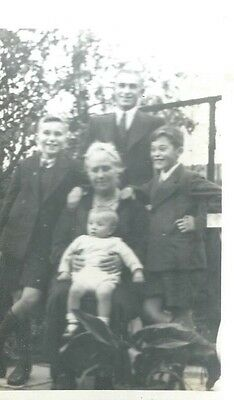 Family Picture,postcard
