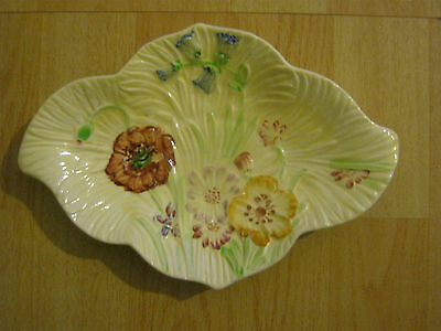 Beswick hand painted floral dish