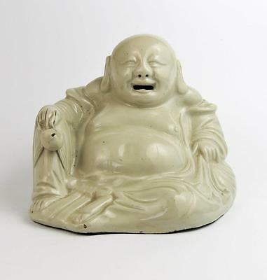 CHINESE PORCELAIN BUDDHA Antique BLANC DE CHINE