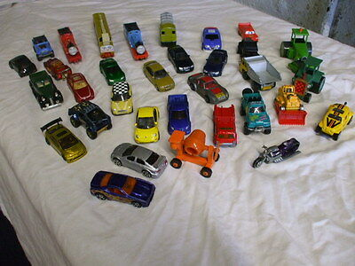 Collection Of Diecast Cars And Railway Engines Job Lot