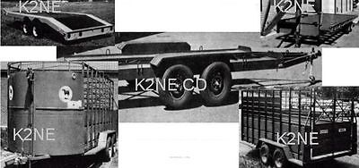 Utility Trailers Car Haulers And More - Plans On Cd - K2Ne Web Store