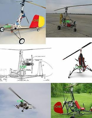 2 Gyrocopters To Build - Plans On Cd - K2Ne Web Store