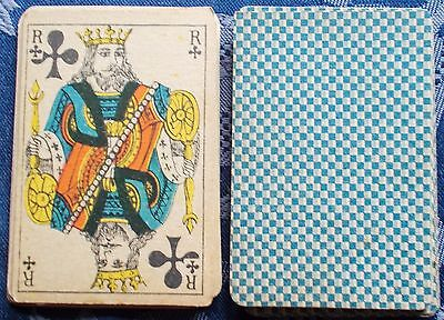 Antique / Vintage  playing cards - French