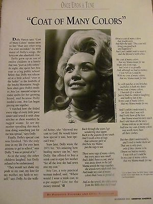 Dolly Parton, Full Page Vintage Clipping