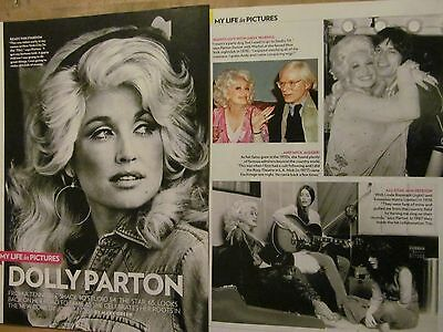 Dolly Parton, Two Page Vintage Clipping