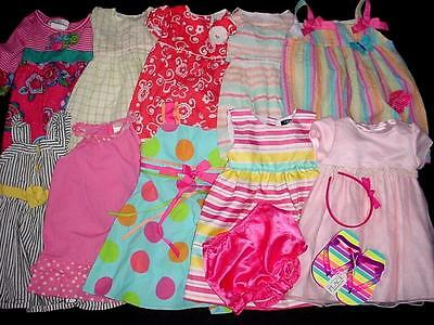 Used Baby Girl Dress Spring Summer Outfit 18 24 Months Clothes Lot