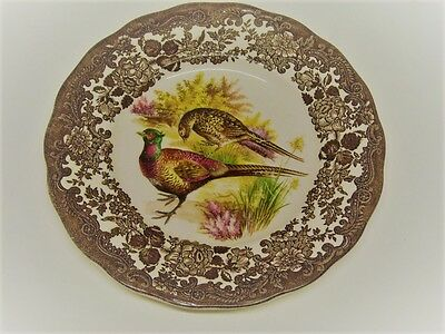 Excellent Condition Royal Worcester Pallisy Game Series Side/Desert Plate