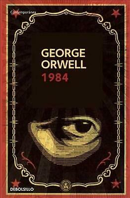1984 by George Orwell (Spanish) Paperback Book Free Shipping!
