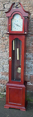 MODERN Grandfather LONGCASE CLOCK With WESTMINSTER CHIME &  Jauch PL107 Movement